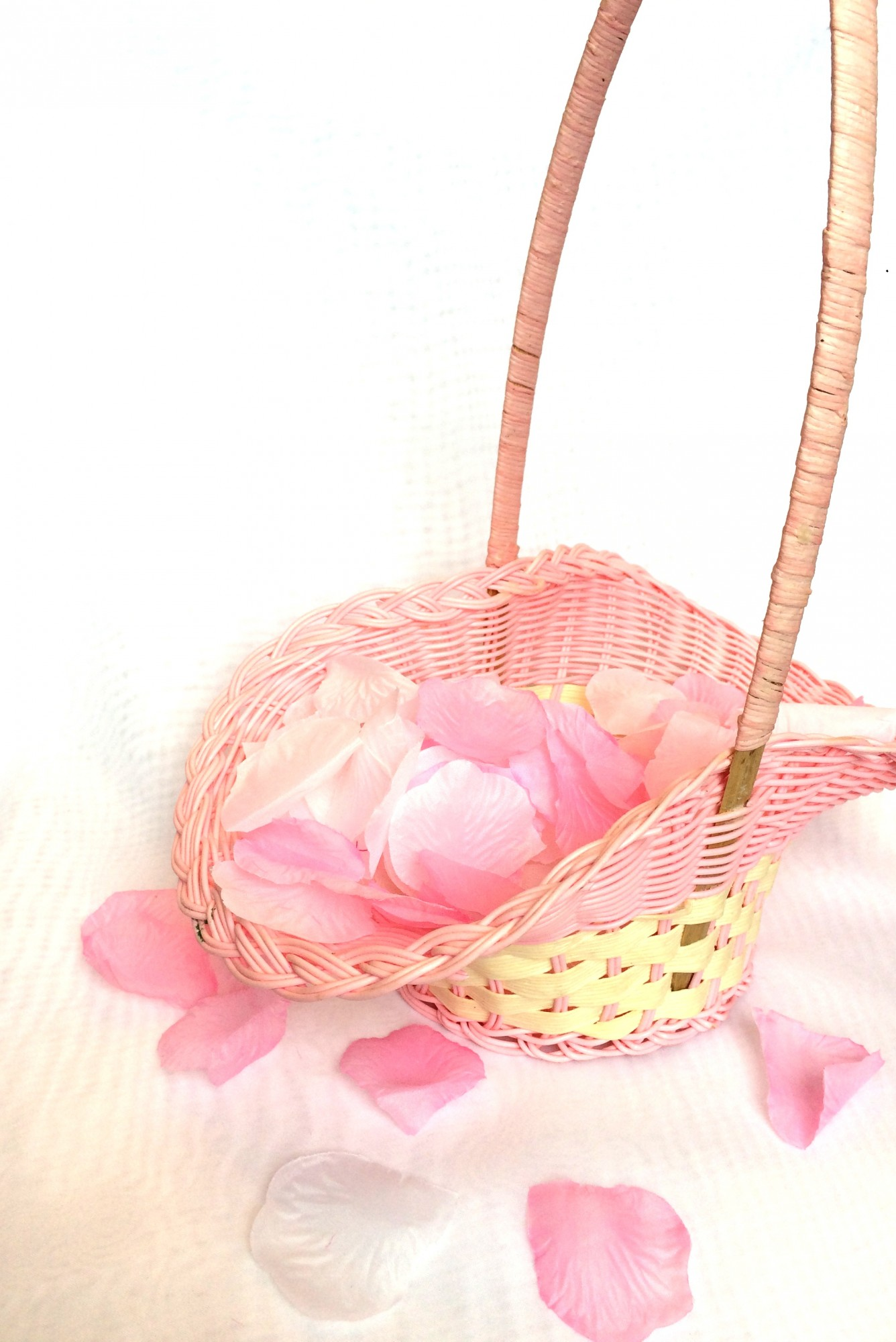 Свадебные корзинки для лепестков роз своими руками 76